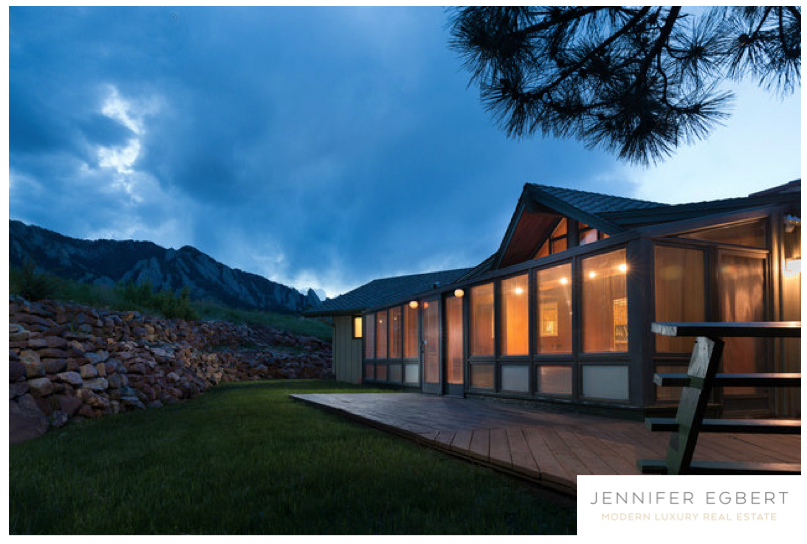 1755 View Point Rd | Boulder CO | Modern Luxury Real Estate