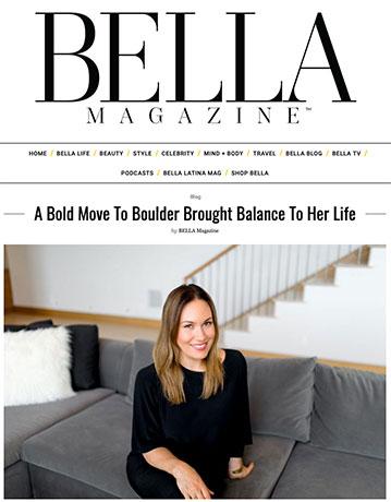 bella magazine article